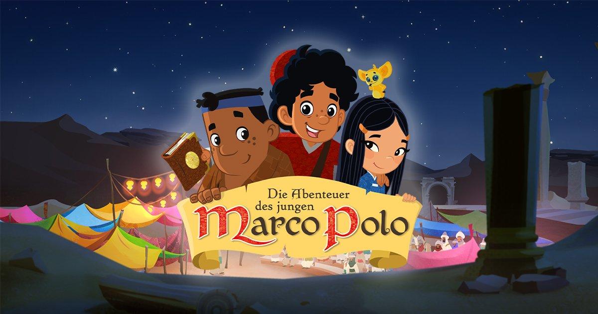 Die Abenteuer des jungen Marco Polo Hörspiele