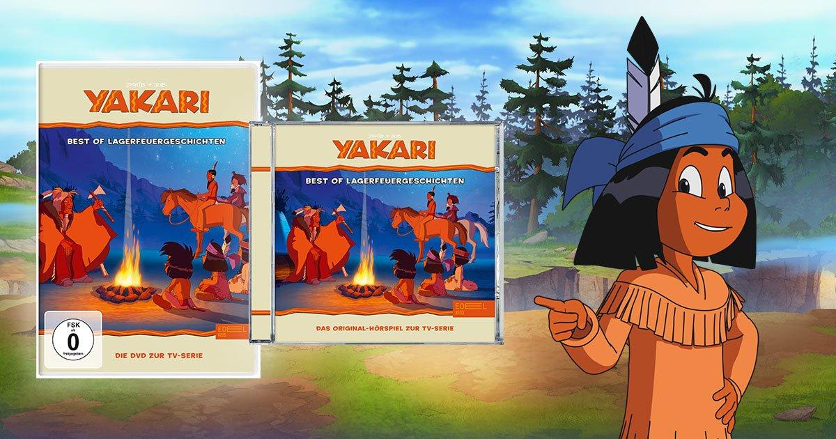 Yakari und seine Lagerfeuergeschichten