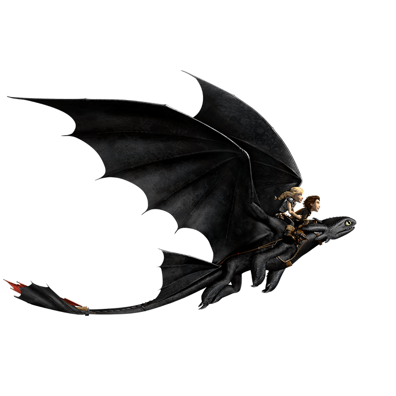 Dragons Hicks und Ohnezahn