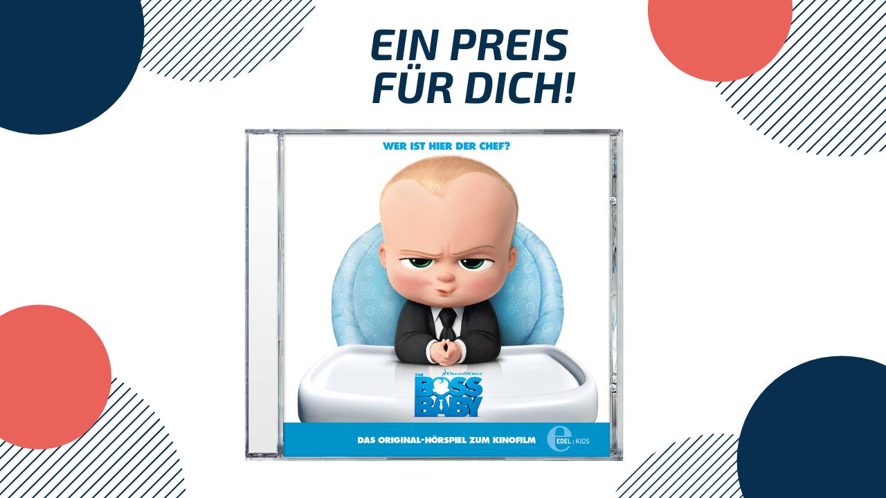 Boss Baby Gewinnspiel