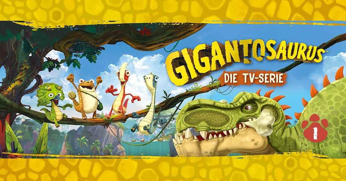 Gigantosaurus Hörspiel und DVD
