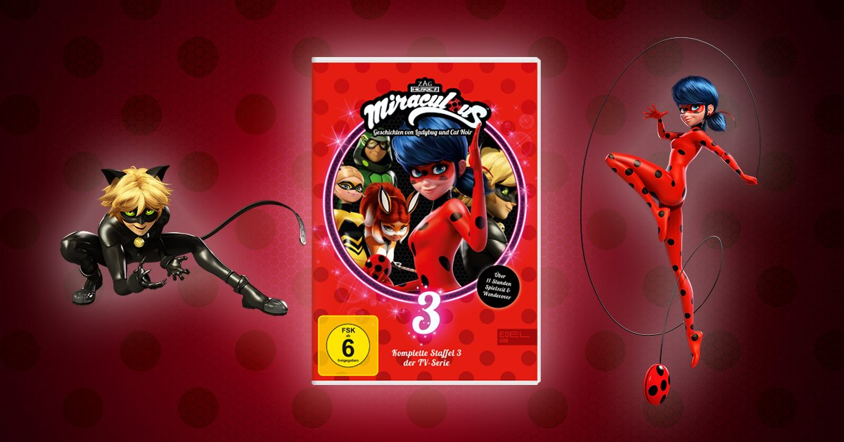Miraculous DVD Staffel 3