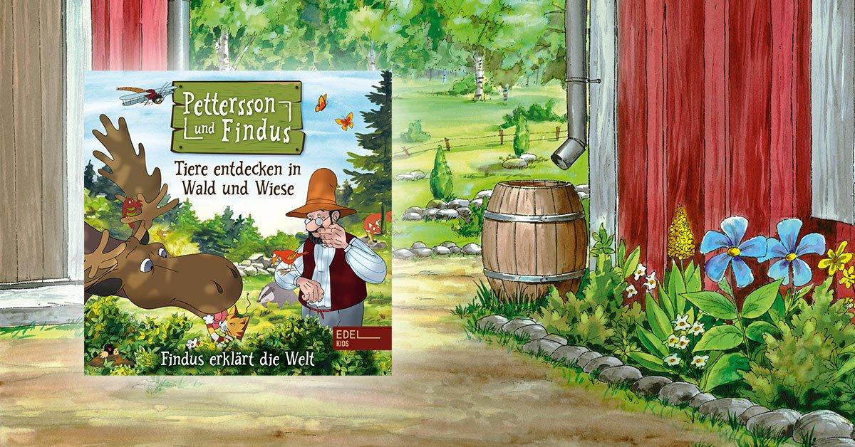 Pettersson und Findus in Wald und Wiese