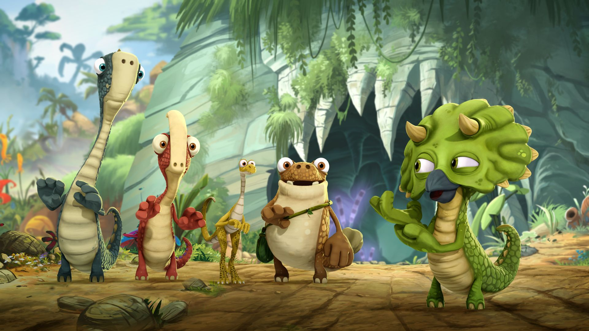 Gigantosaurus Szenenbild