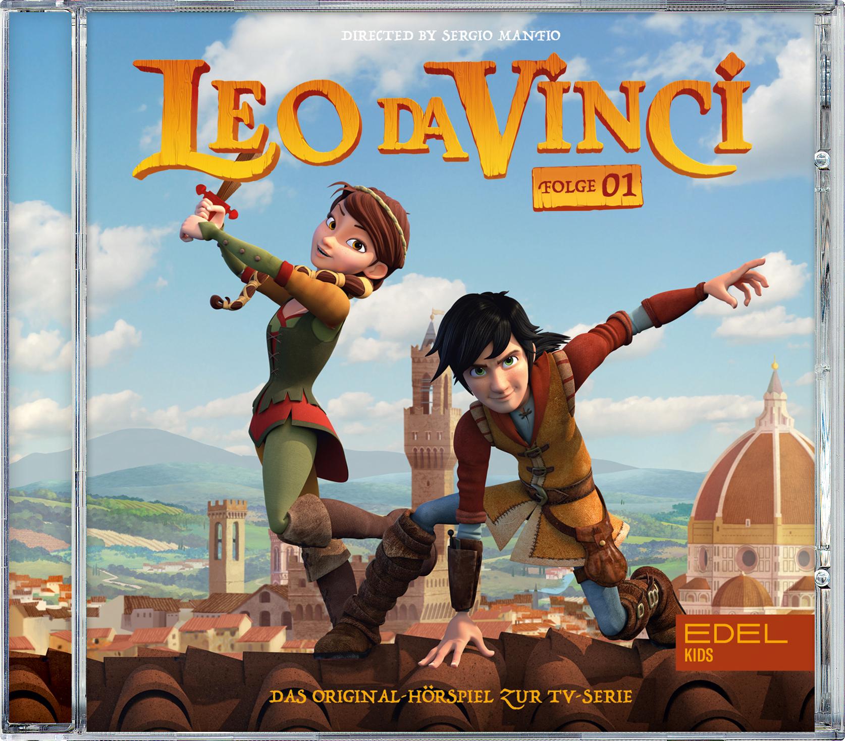 Abbildung Leo da Vinci Hörspiel Folge 1