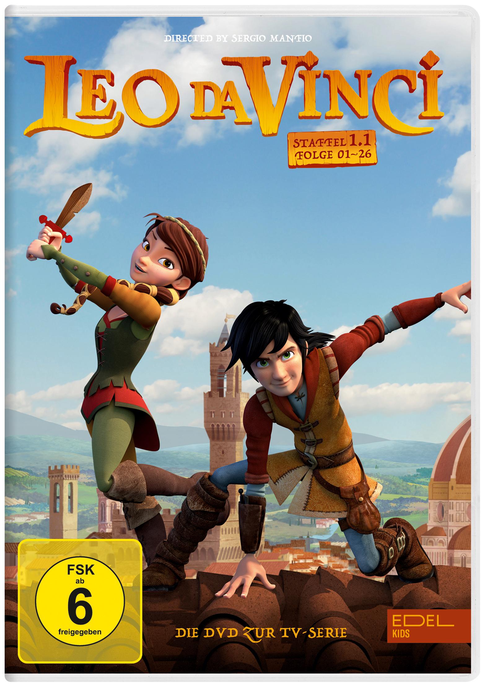 Leo da Vinci DVD Abbildung