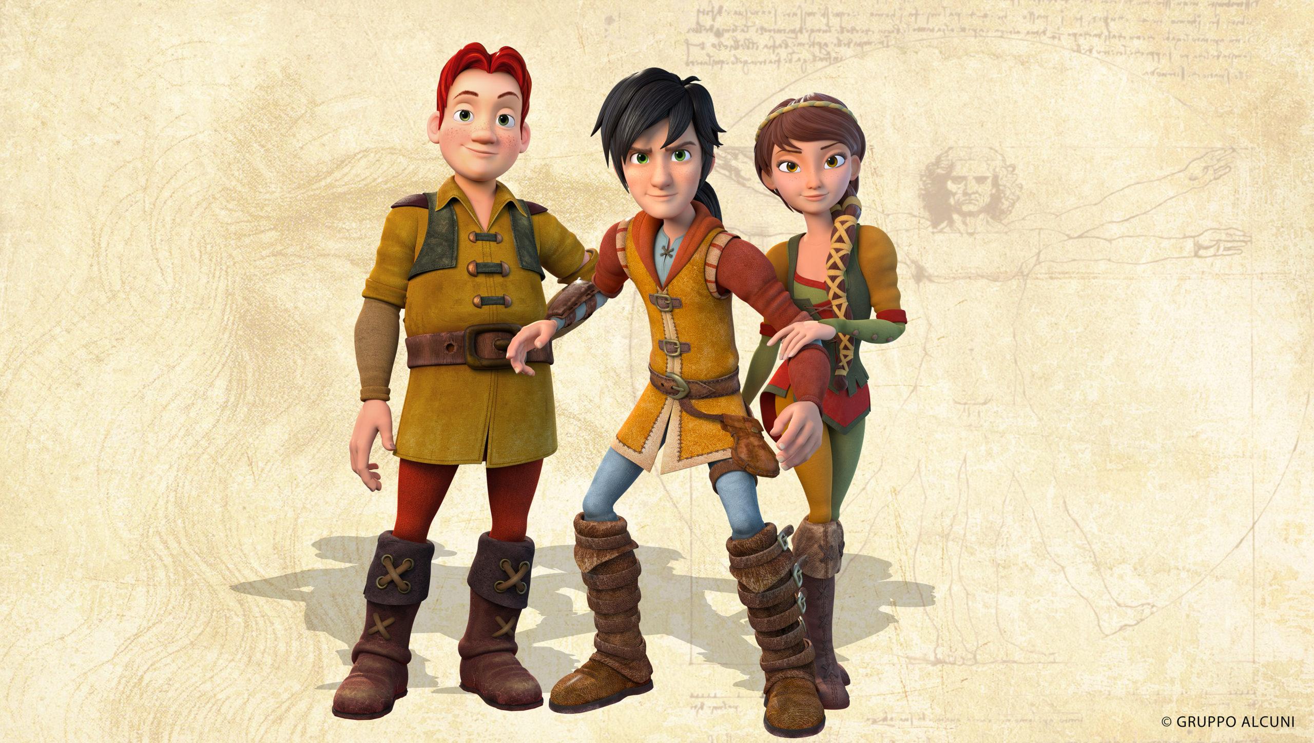 Bild: Lollo, Leo und Lisa Ganzkörper